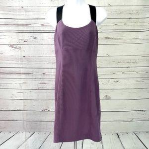 4/$25 NWT Guess purple sleeveless cage back dress